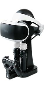 PlayStation, PlayStation VR, Virtual Reality, VR, Charging Station, Display, Power, Charging