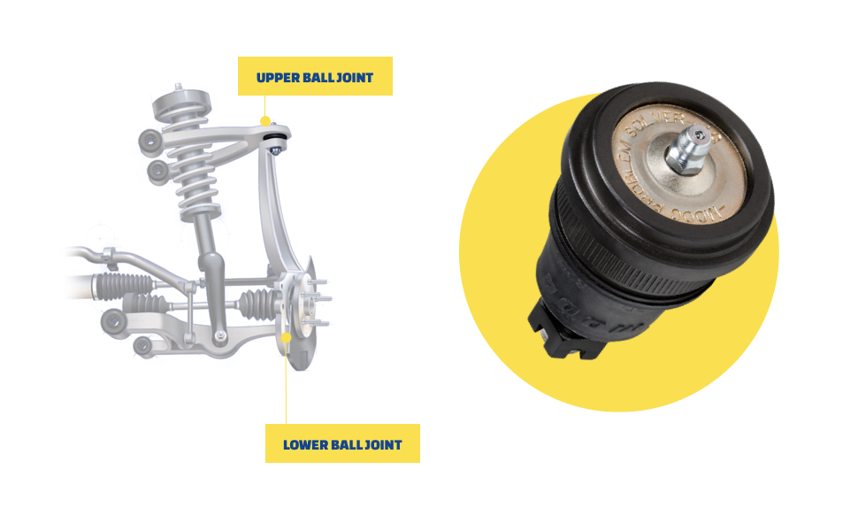 2011 Fits Subaru Impreza Front Lower Suspension Ball Joint With Five Years Warranty