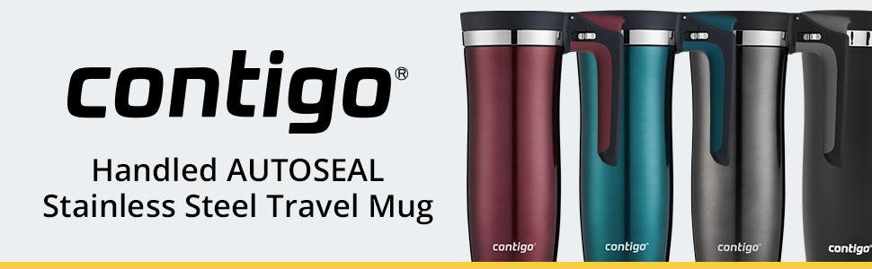 Lid16 OzSpiced Steel Autoseal Contigo Handled Stainless Wine Clean Vacuum Insulated Travel Mug Easy LGqSMVUzp