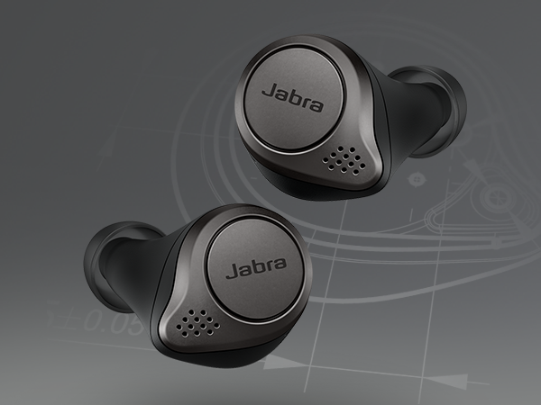 Designed for a secure fit, the Jabra Elite 75t features a new smaller design