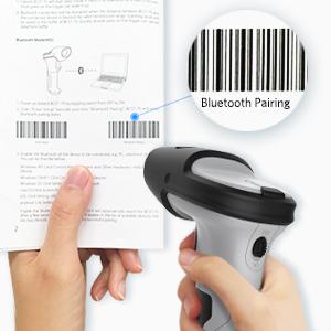BCST-70 Bluetooth Wireless Barcode Scanner with 35m Range
