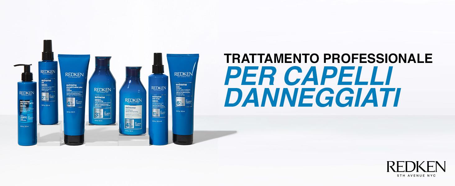 Redken Extreme Prodotti Professionali Capelli Danneggiati Shampoo Balsamo Trattamento