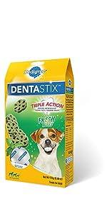 DentaStix, Fresh Bites, Dog, Treats, Oral Care, Treats, Reduces Tartar and plaque, freshens breath