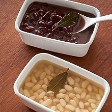 ゆで豆いろいろ