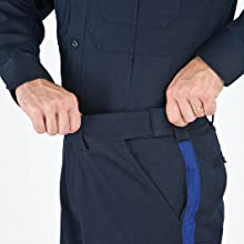 Internal gripper panel keeps shirts tucked in