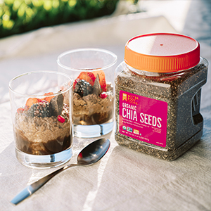 Organic Chia Seeds BetterBody Foods