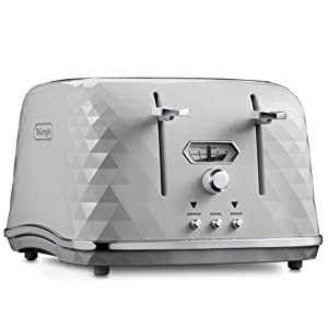 toaster 4 slice delonghi