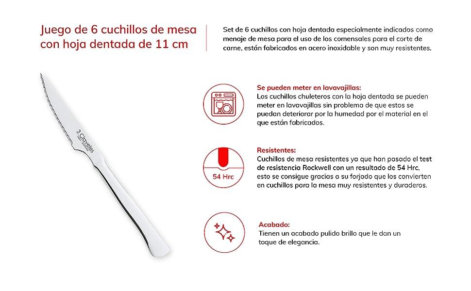 Couteaux de cuisine professionnels pour viande, fruits, légumes, éplucher et nettoyer