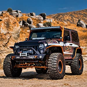 Jeep Wrangler Off Road >> Eag Rock Guard With Step Off Road Fit For 97 06 Jeep Wrangler Tj