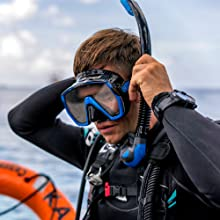 tusa, scuba, diving, mask, fins, snorkel, bcd, computer, underwater, gear, snorkel, lights, knives
