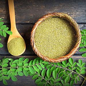 Moringa essential Oil vitamin C face serum skin boosts collagen