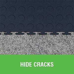 protective flooring, garage tile, workshop tile, garage floor, interlocking tile, modular flooring