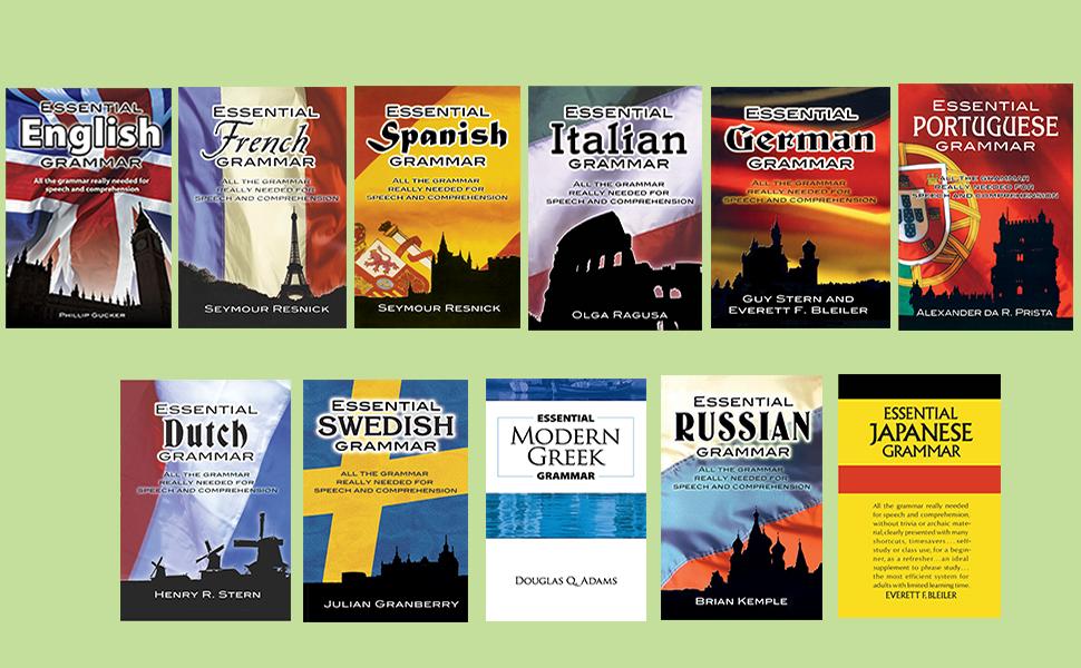 Essential Modern Greek Grammar (Dover Language Guides Essential