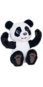 plum the panda, plum, panda, furreal, fur, real, interactive, plush