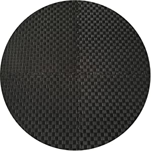 BalanceFrom Puzzle Exercise Mat with EVA Foam Interlocking Tiles for MMA, Exercise, Gymnastics and Home Gym Protective Flooring