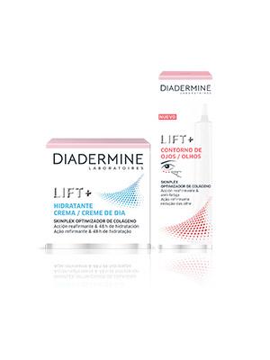 Diadermine - Neceser Crema Lift+ Protección Solar y toallitas desmaquillantes hidratantes (1 Pack)