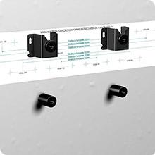 suporte fixo universal, elg, tv, monitor, led, lcd, plasma, 3d, tv plana, tv curva