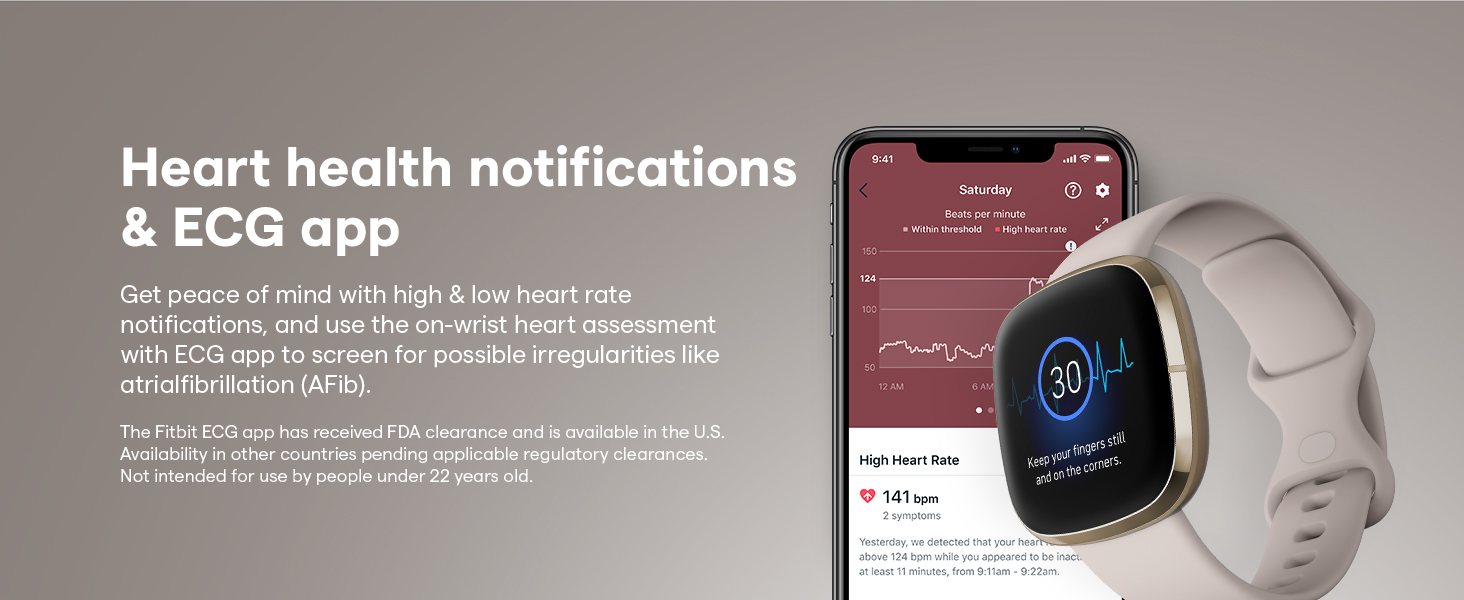heart health notifications