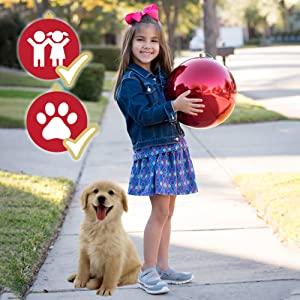 child kid pet friendly shatterproof plastic ornaments no shatter safe safety