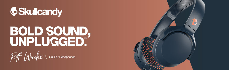 Bold Sound, Unplugged. Riff Wireless On-Ear Headphones.
