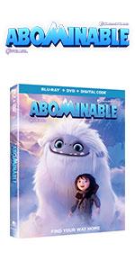 Abominable, Yeti, Family, Kids, DVD, Blu-ray, 4K, Boy, Friendship, Dreamworks