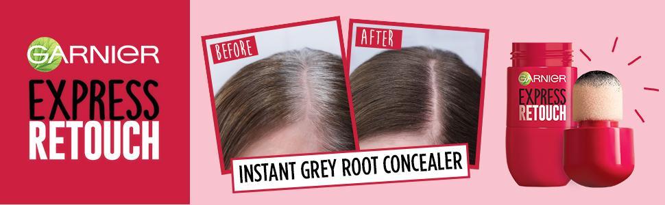 Garnier Express Retouch Root Concealer For Dark Brown Hair