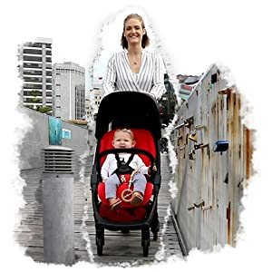 slimline compact and lightweight stroller for travel