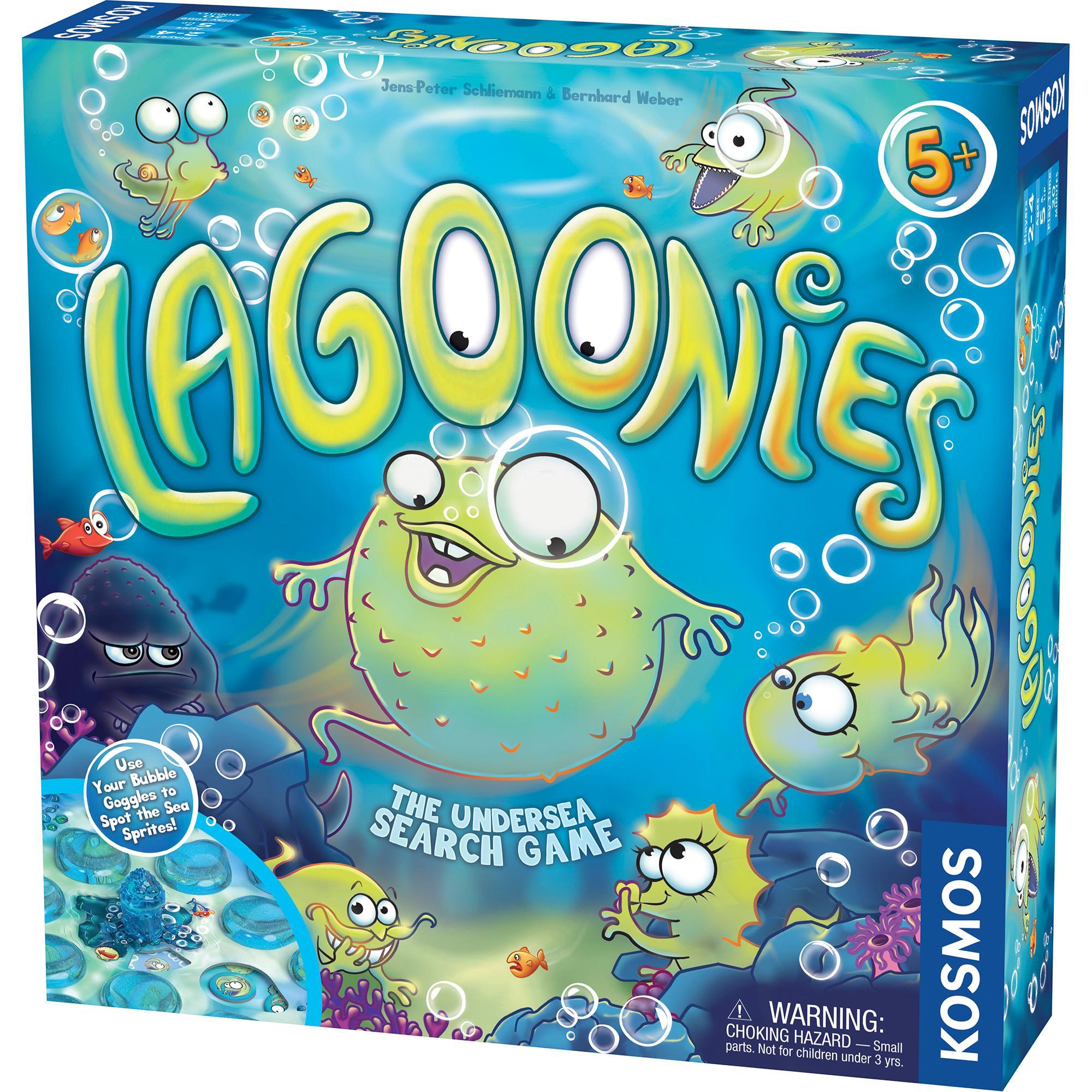amazon com thames kosmos lagoonies the undersea search game rh amazon com