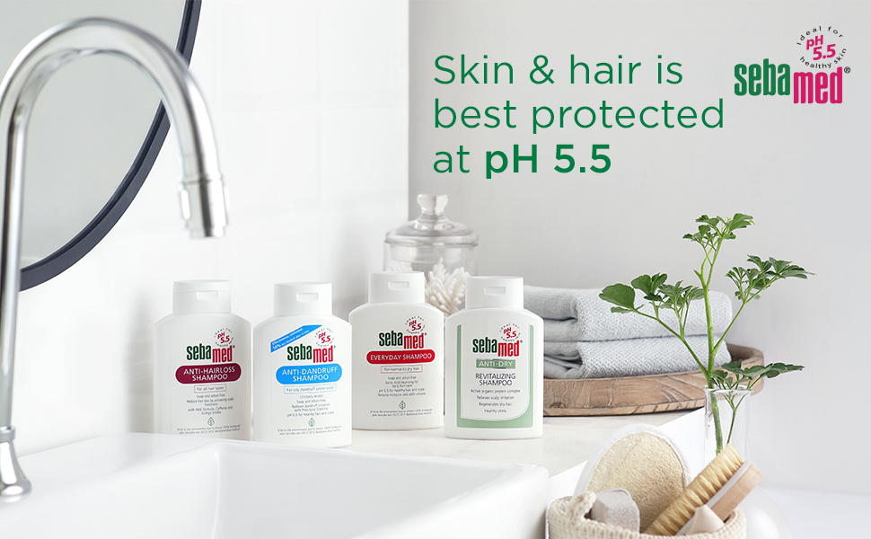 Skin & Hair is best Protected at pH 5.5