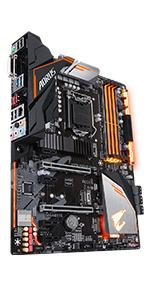 h370, intel, gigabyte, aorus, motherboard. gaming, wifi, lga 1151