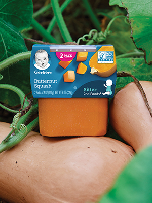 Gerber 2nd Foods has new tastes and textures to help your baby explore different foods.