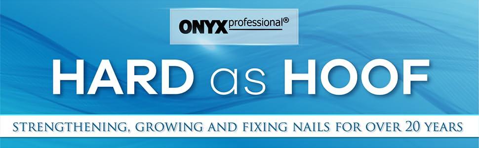 Onyx Professional Hard as Hoof Nail strengthening cream treatment
