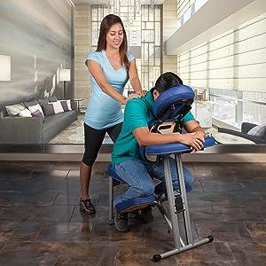 massage chair, portable massage chair, massahe chair portable, massage, stronglite, ergo pro