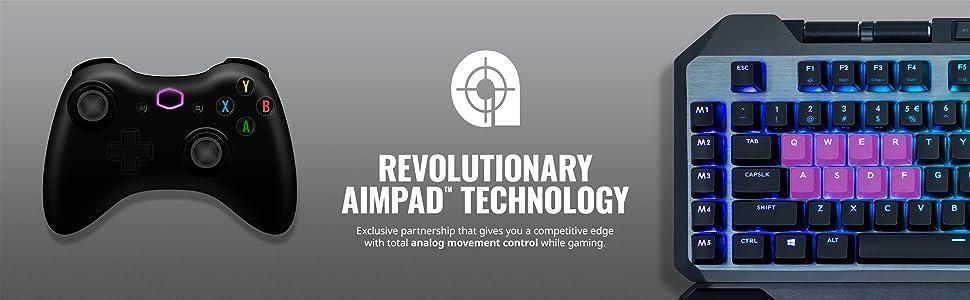 MK850 - Revolutionary AIMPAD Technology