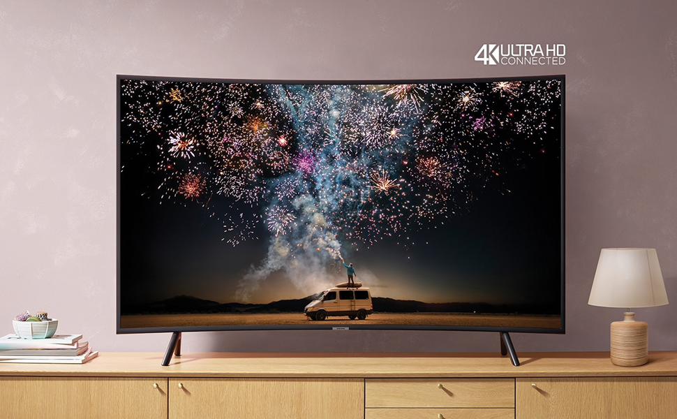 "49"" RU7300 Curved Smart 4K UHD TV (2019)"