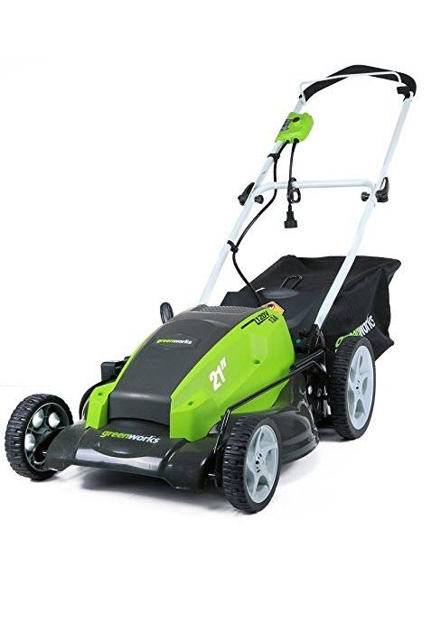 Amazon Com Greenworks 20 Inch 12 Amp Corded Lawn Mower