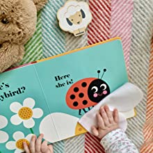 whale felt flap lift the bright first words search and find baby toddler best-selling series sea