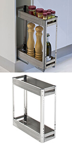 Kitchen Pull-Out Organiser for 200mm cupboard