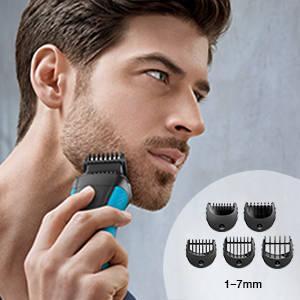 Braun Series 3 - Pack con cabezal de recortadora de barba y 5 ...