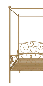 canopy bed;kids bed;bed;kids canopy bed;twin bed;full bed;white bed;bedroom set;metal bed;bedroom
