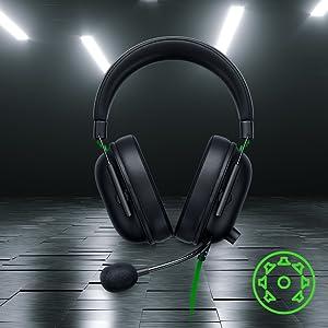Razer Black Shark Gaming Headset Audio Esports