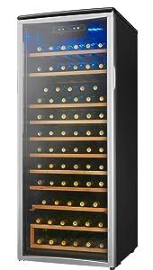 amazon com danby designer 75 bottle freestanding wine cooler rh amazon com