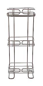 bath bathroom storage basket metal shower caddy