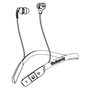 skullcandy bluetooth headphones wireless with microphone