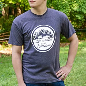 tee shirt;t-shirt;denim shirt;camping shirt;rv;mens apparel;boys shirt;womens shirt