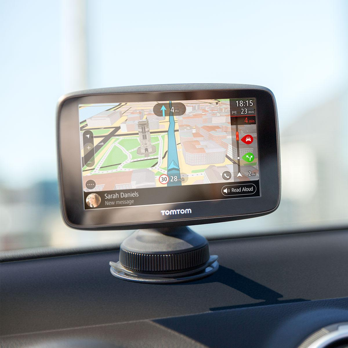 tomtom go 6200 6 sat nav wi fi lifetime world maps. Black Bedroom Furniture Sets. Home Design Ideas