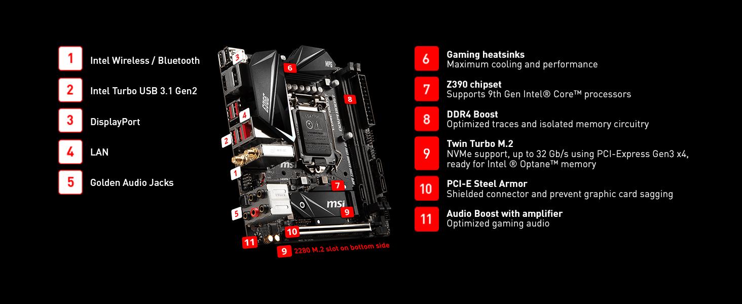 Intel Z390 Motherboard
