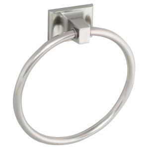 Amazon Com Design House 539163 Millbridge Wall Mounted Towel Ring For Bathroom One Size Satin Nickel Home Improvement