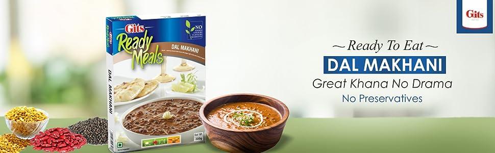 Gits Ready to Eat Dal Makhani, 300g