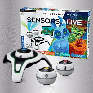 Thames & Kosmos Sensors Alive: Bring Physics to Life Science Experiment Kit